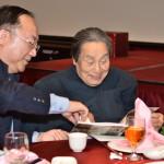 彭錦鵬教授與劉介宙學長閱讀系友會訊